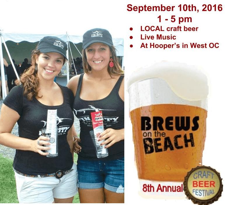8th Annual Brews on the Beach