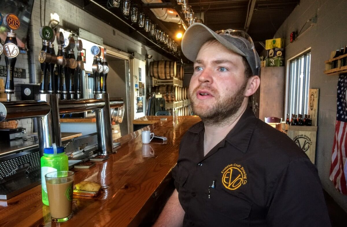Evo's Mike Piorunski takes beer seriously - Shore Craft Beer