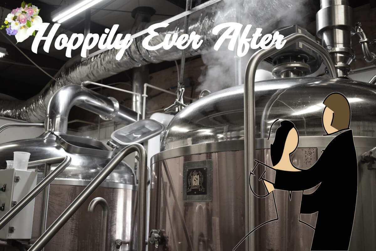 Hoppily ever after how to brew your own wedding beer for How to brew your own craft beer