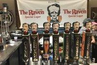 RavenBeer tap handles